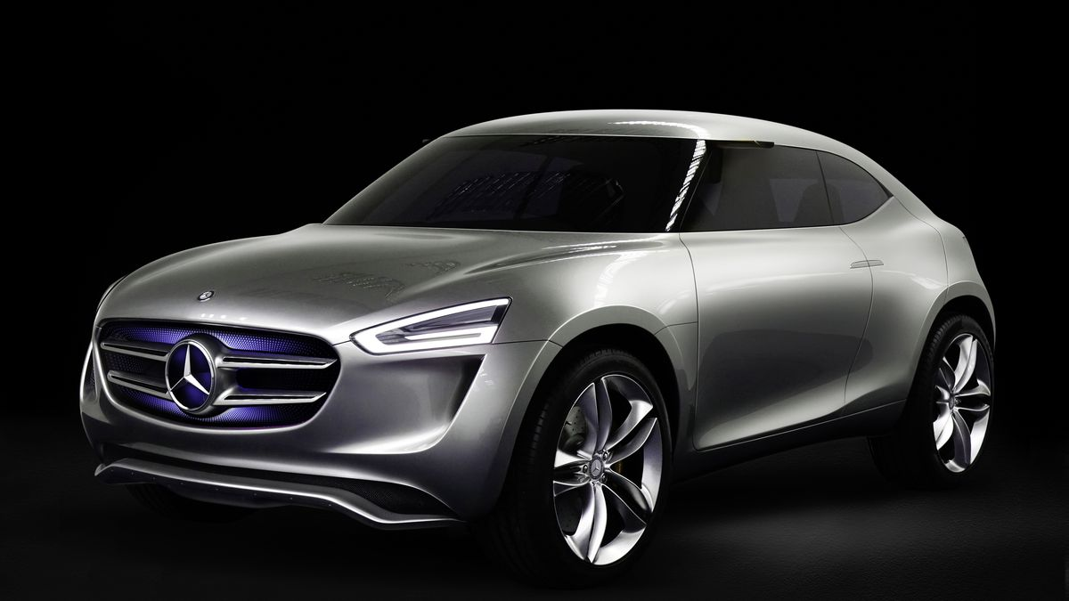 Mercedes Benz Has A New Concept Car Powered By Its Paint Job The Verge