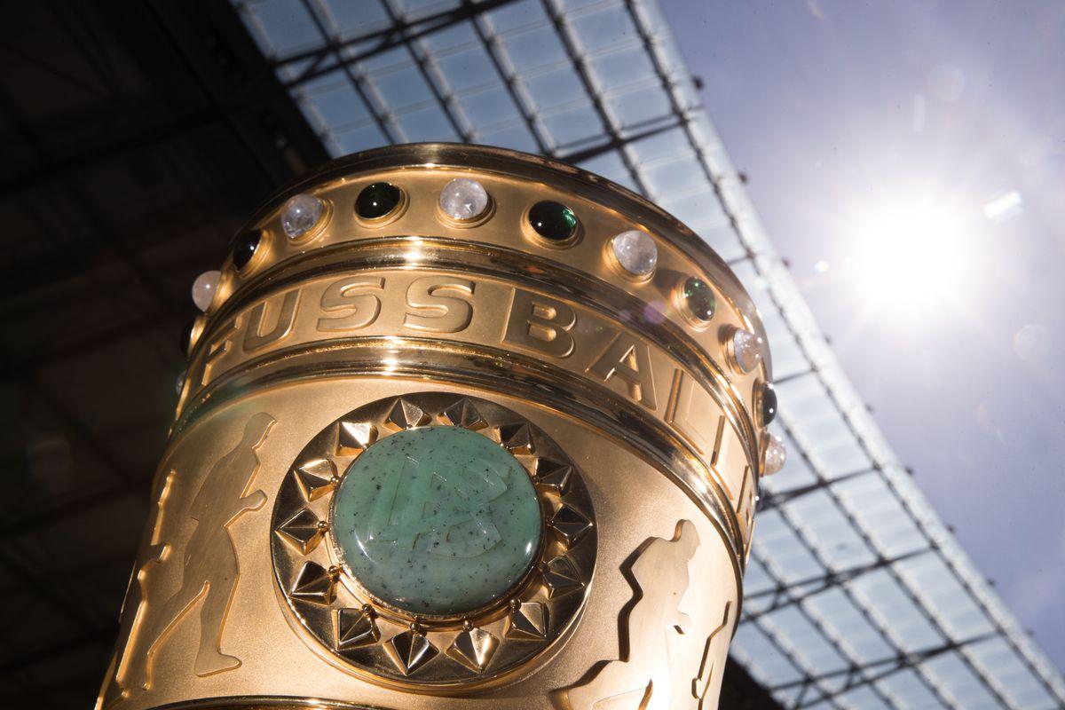 Original DFB Cup Trophy