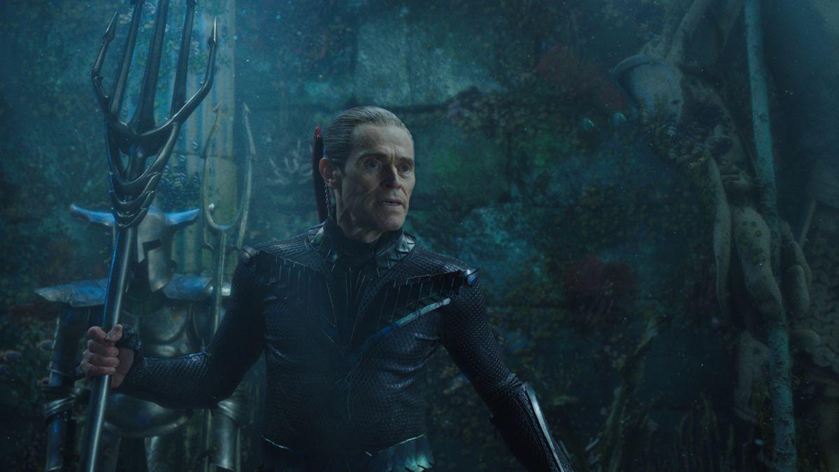 Aquaman - Nuidis Vulko holding a trident