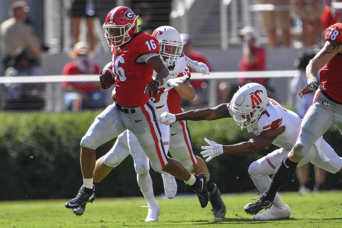 NCAA Football: Austin Peay at Georgia