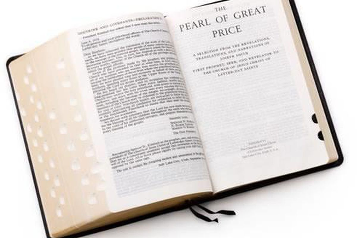 The book of Abraham was canonized as part of The Pearl of Great Price in 1880.