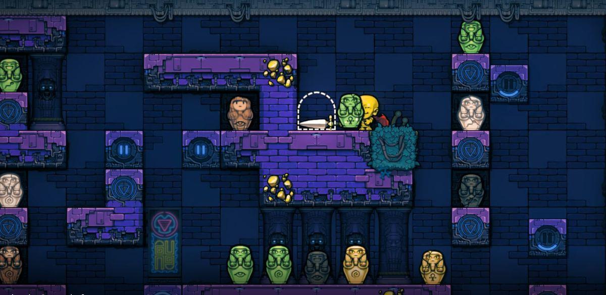 The urn room in Spelunky 2