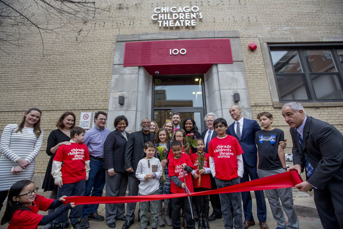 The Chicago Children's Theatre grand opening of it's new home, The Station, 100 S. Racine, in January. (Photo: Charles Osgood Photography)