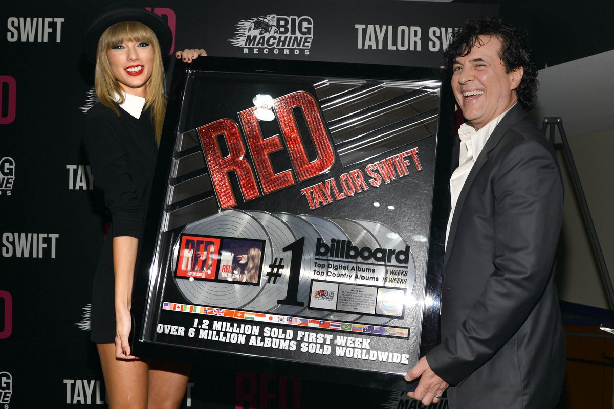 Taylor Swift Is Honored For Her Multi-Platinum Album RED At A Special Event During The Final 3 Nights Of Her Sold-out North American Tour