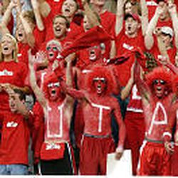 The student section \\\\— the Muss \\\\— keeps home games lively during Utah games at Rice-Eccles Stadium.