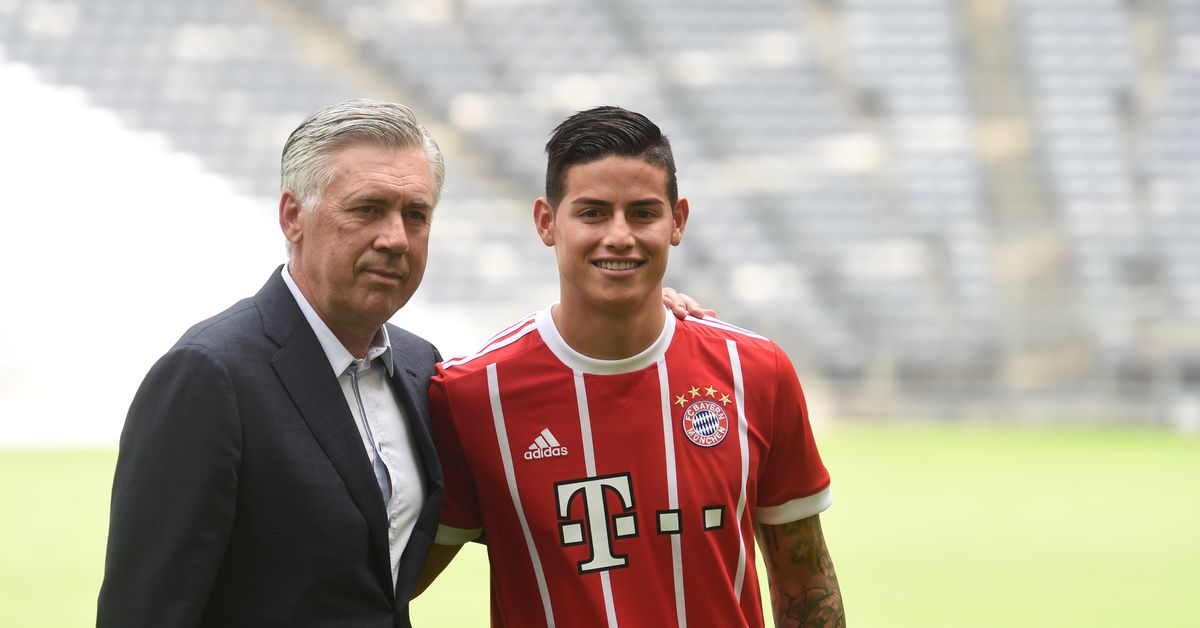 Everton Ancelotti Make Approach For James Rodriguez How Would He Fit In Royal Blue Mersey
