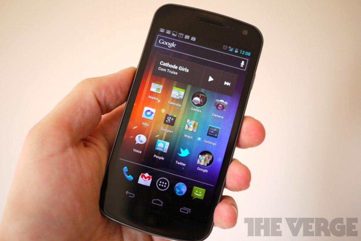 Galaxy Nexus review photo