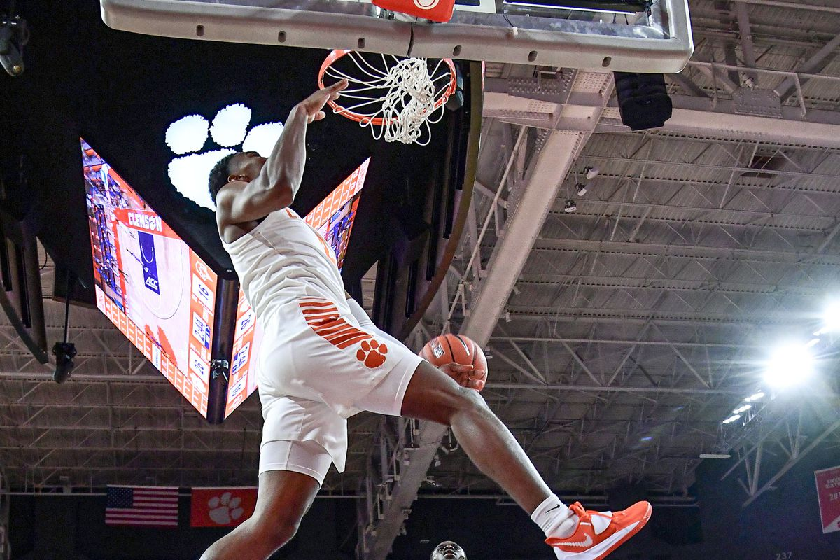 NCAA Basketball: Morehead State at Clemson