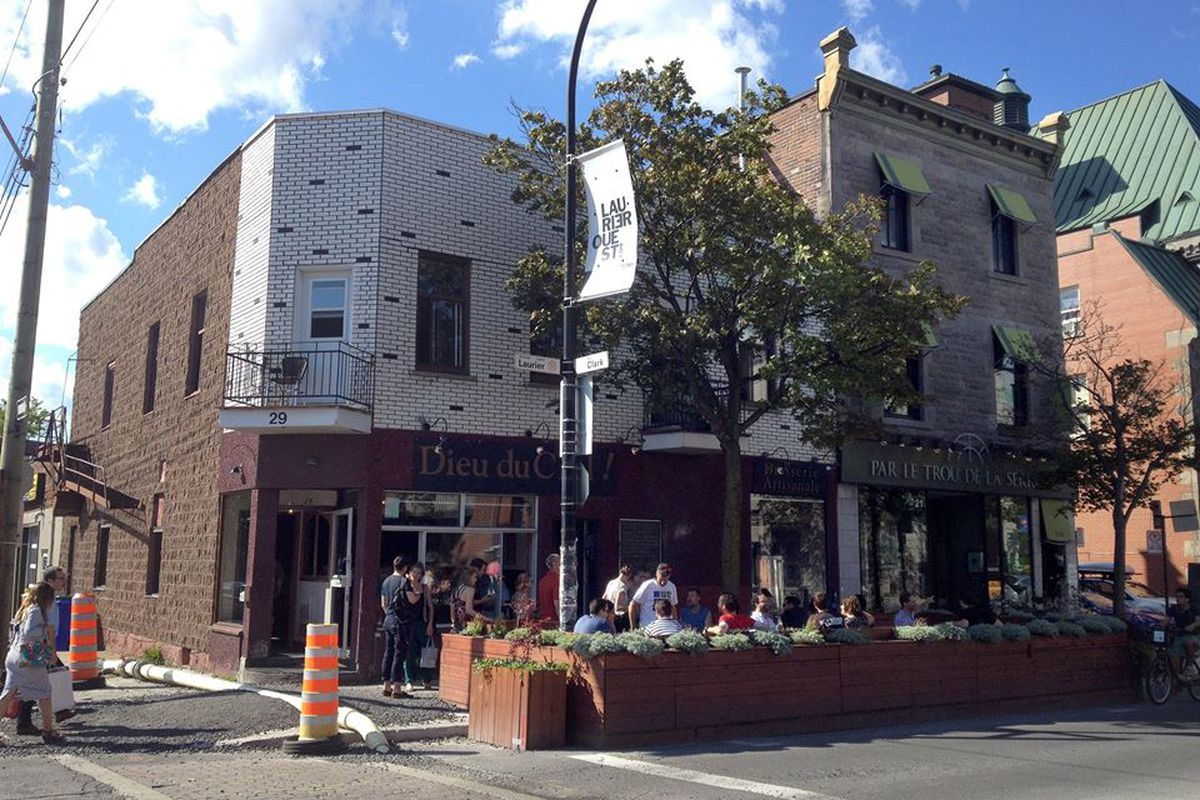 Dieu du Ciel's brewpub in Mile End, Montreal