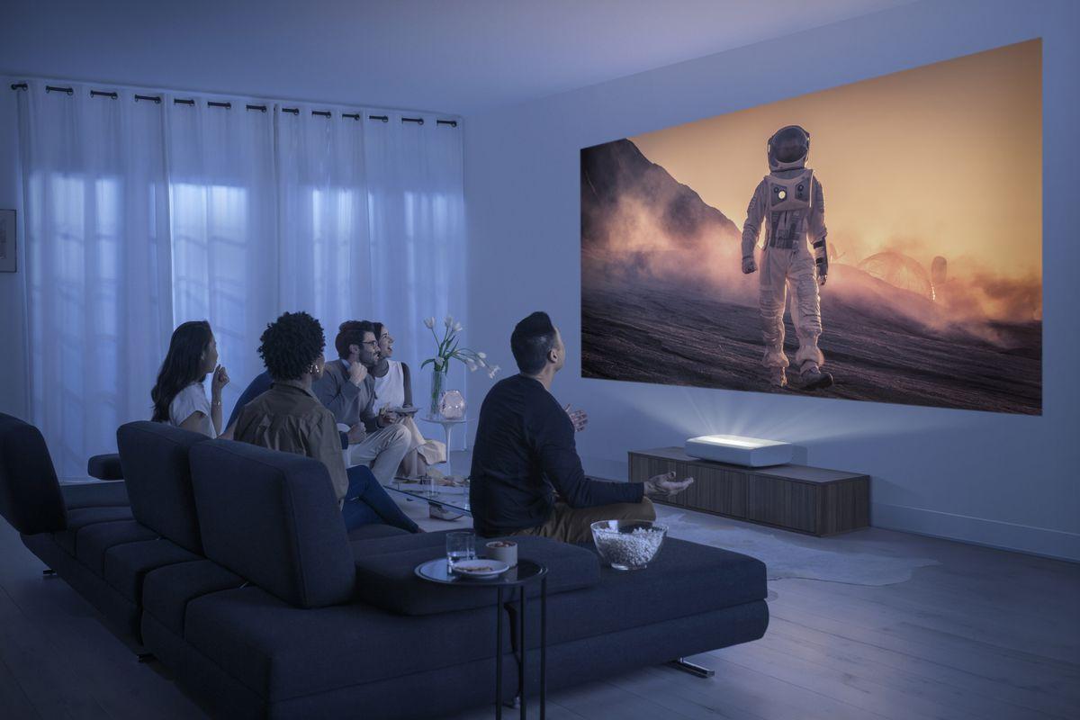 Samsung announces The Premiere, an ultra short throw 20K laser ...