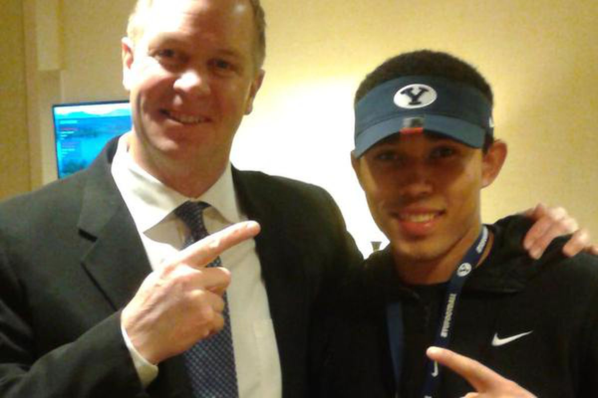 Brent committed to BYU while on official visit at the end of January.