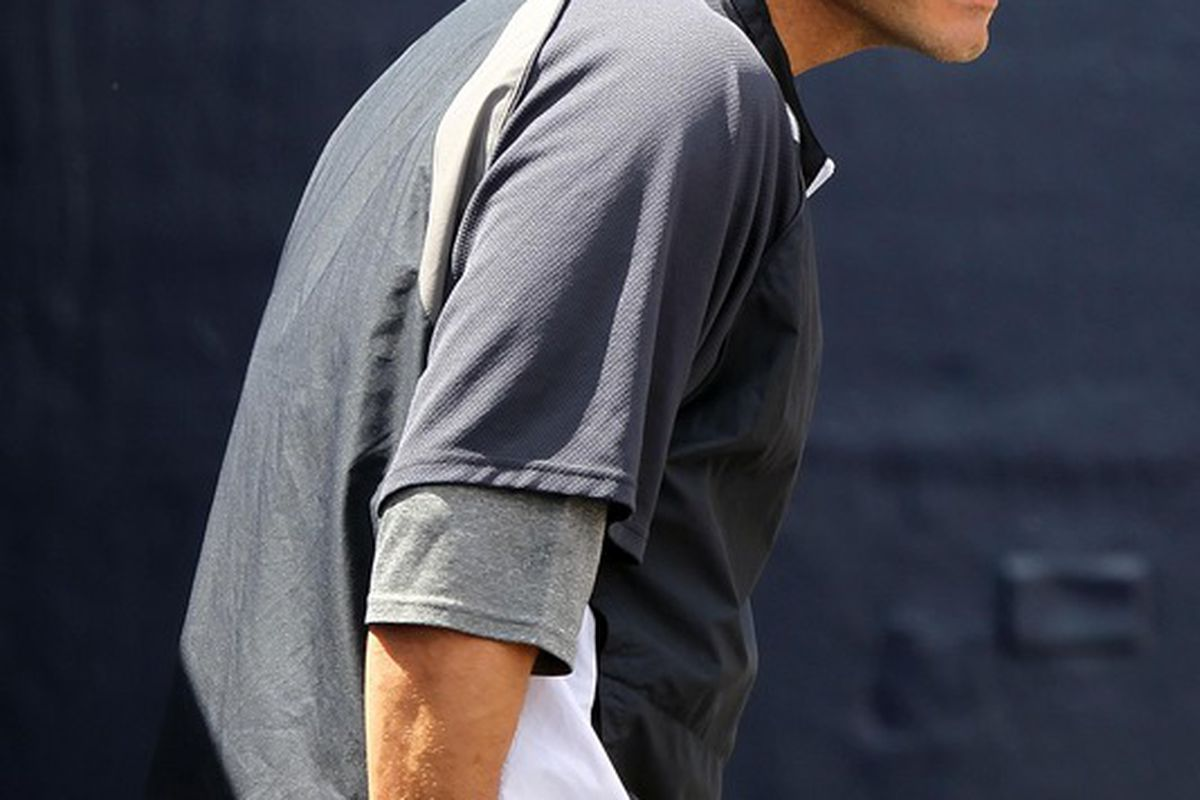 This is not the best picture of Andy Pettitte.