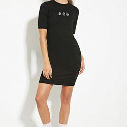 """Bodycon dress, <a href=""""http://www.forever21.com/Product/Product.aspx?br=F21&category=dress&productid=2000182955"""">$19.90</a>"""