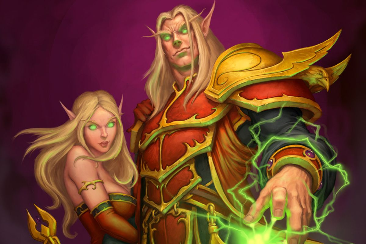 Here Are World Of Warcrafts New Blood Elves Polygon