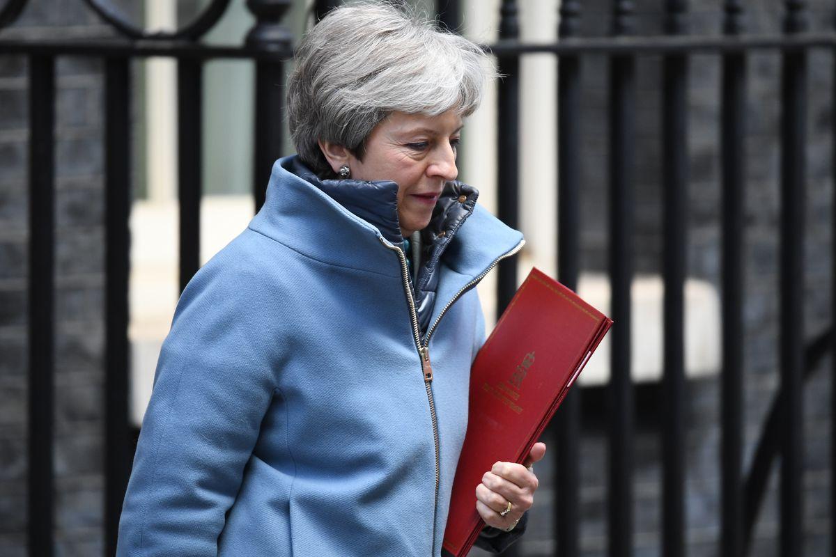 Theresa May's Future Hangs In The Balance