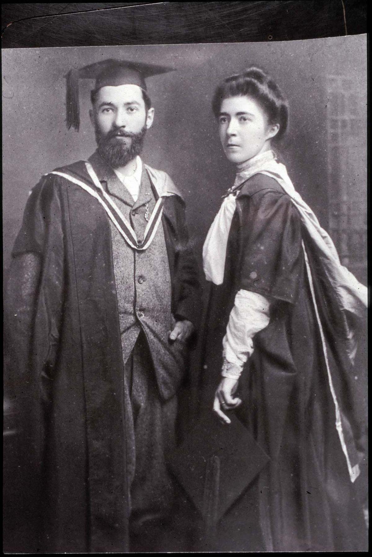 Francis and Hanna Sheehy Skeffington on their wedding day. | Micheline Sheehy Skeffington
