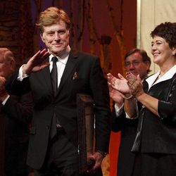 """For all his contributions to the state of Utah, Robert Redford was recognized and honored by Governor Gary Herbert at a gala in his honor, """"The Governor's Salute to Robert Redford: A Utah Tribute to an American Icon"""" at the Grand America Hotel, Saturday, November 9, 2013. Redford is an actor, director, producer, philanthropist, businessman, environmentalist, and founder of the Sundance Resort, the Sundance catalog, and the Sundance Institute which hosts the Sundance Film Festival."""