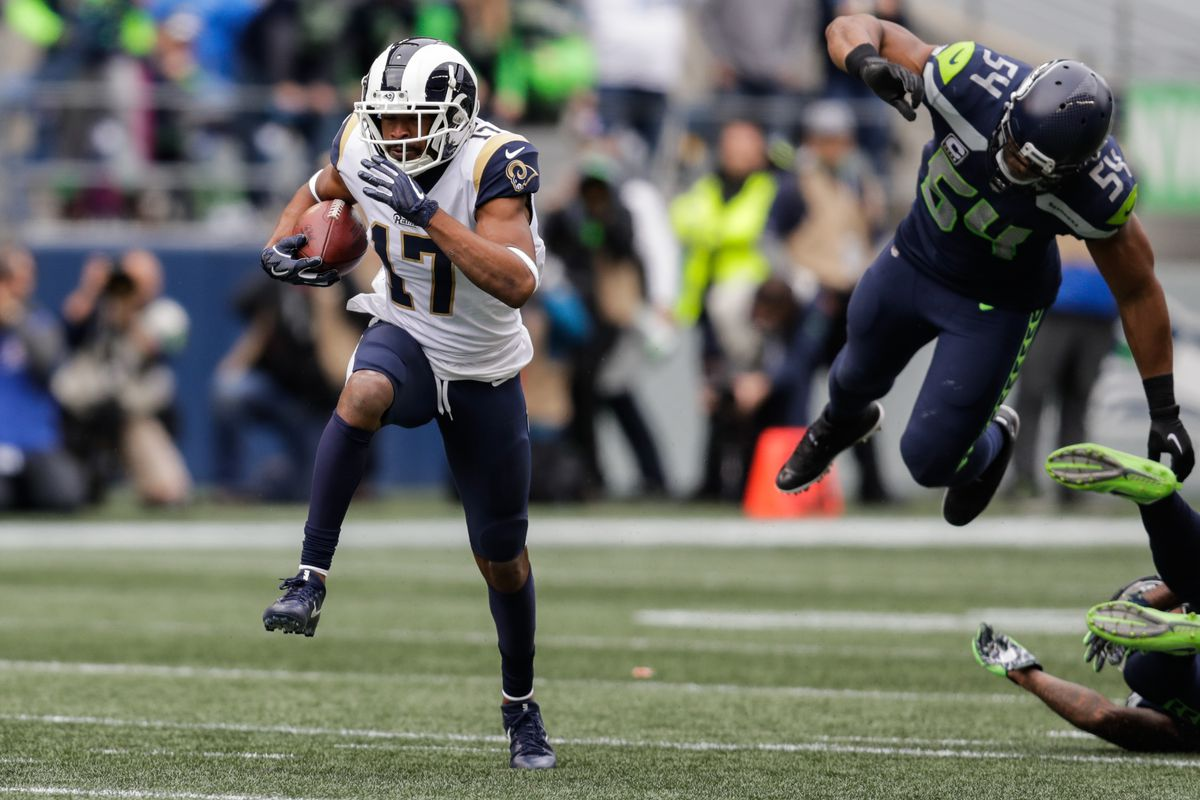 Los Angeles Rams Game Balls Vs Seattle Seahawks Turf Show Times