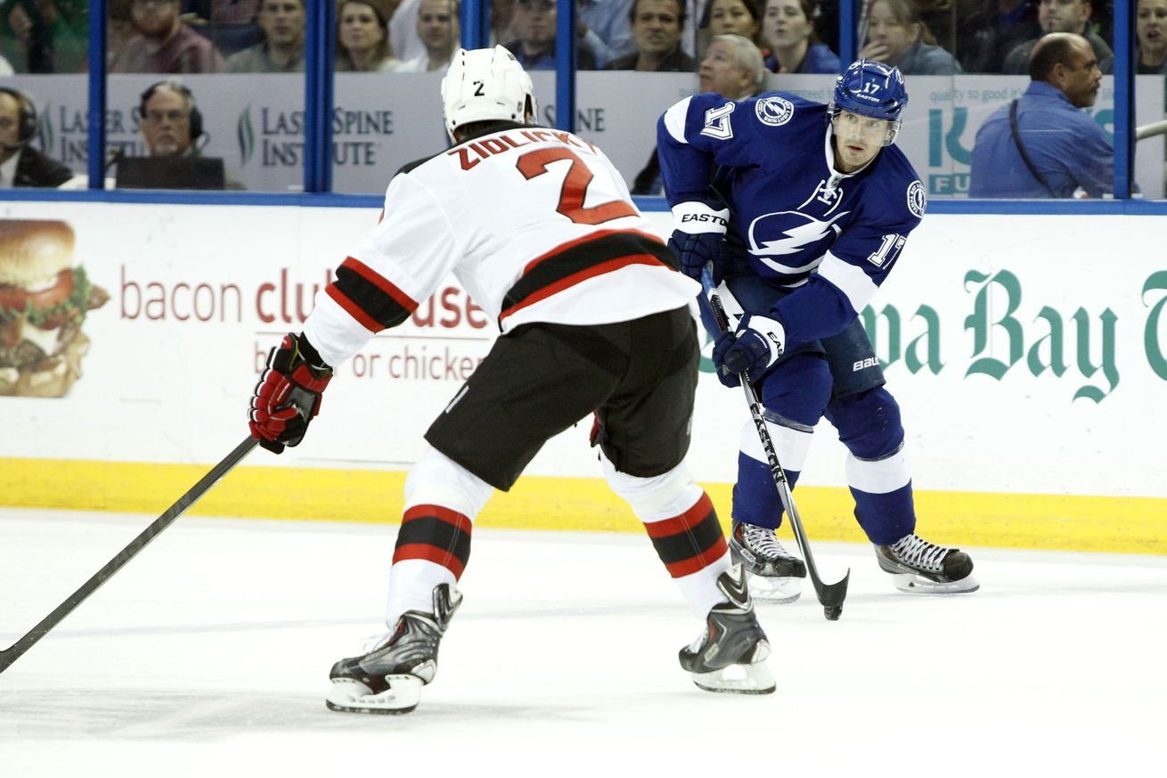 Tampa Bay Lightning Versus New Jersey Devils Broadcast