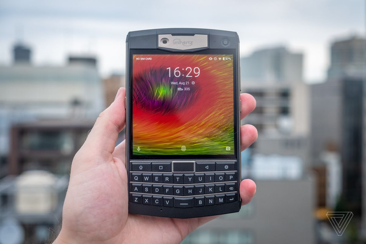 This heavy-duty phone is like a BlackBerry Passport that