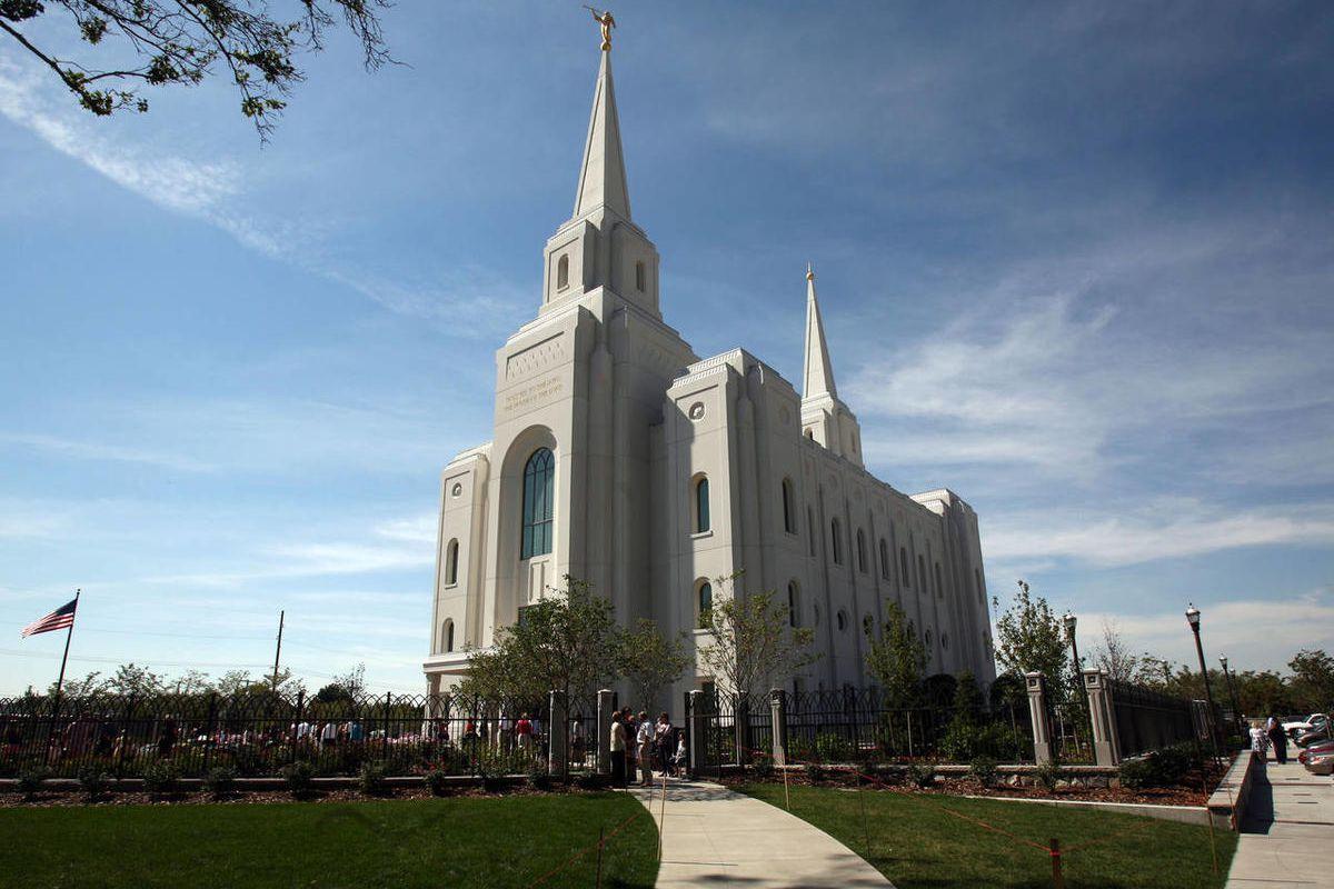 Brigham City Utah Temple in Brigham City on Friday, Sept. 14, 2012.