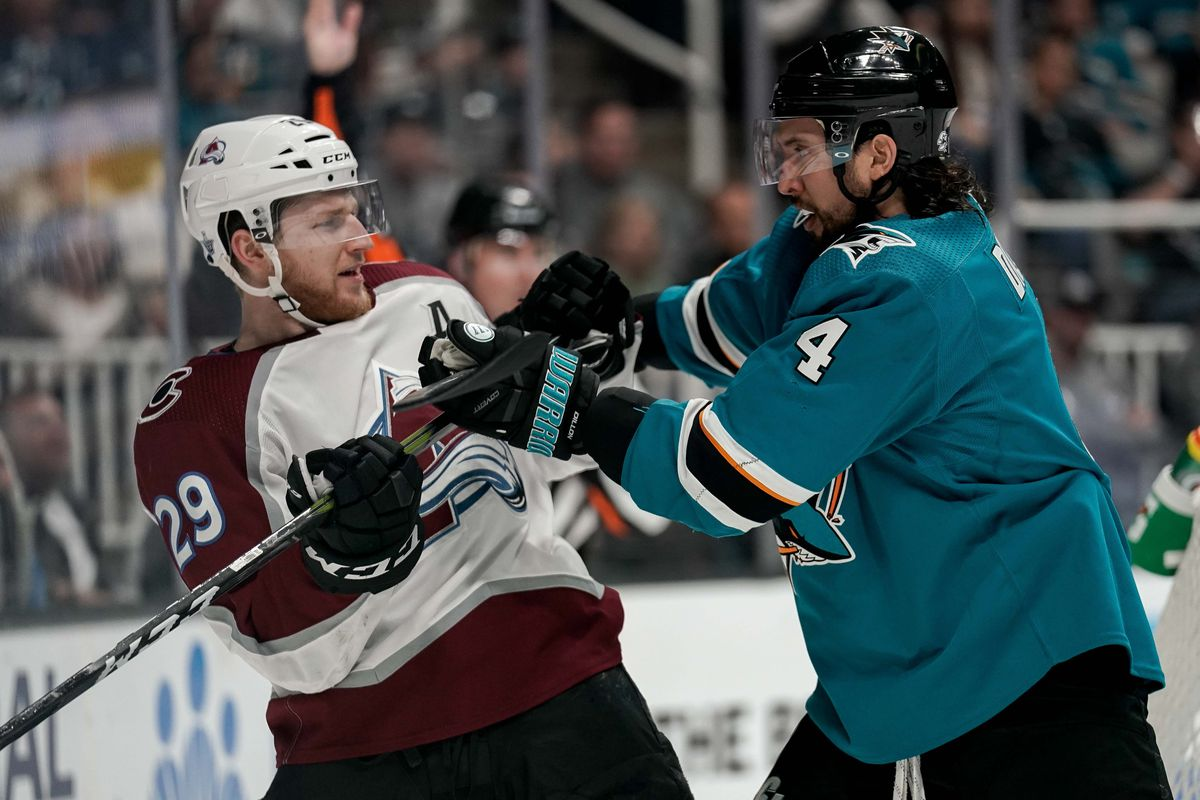 beffb833a Avalanche vs. Sharks 2019 odds: Game 7 line has San Jose as favorite ...