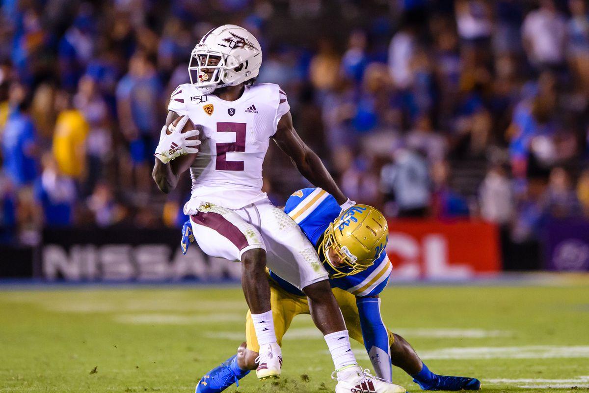 COLLEGE FOOTBALL: OCT 26 Arizona State at UCLA