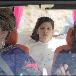 "Ronny Merhavi, Noa Koler and Dafi Alferon in ""The Wedding Plan."""