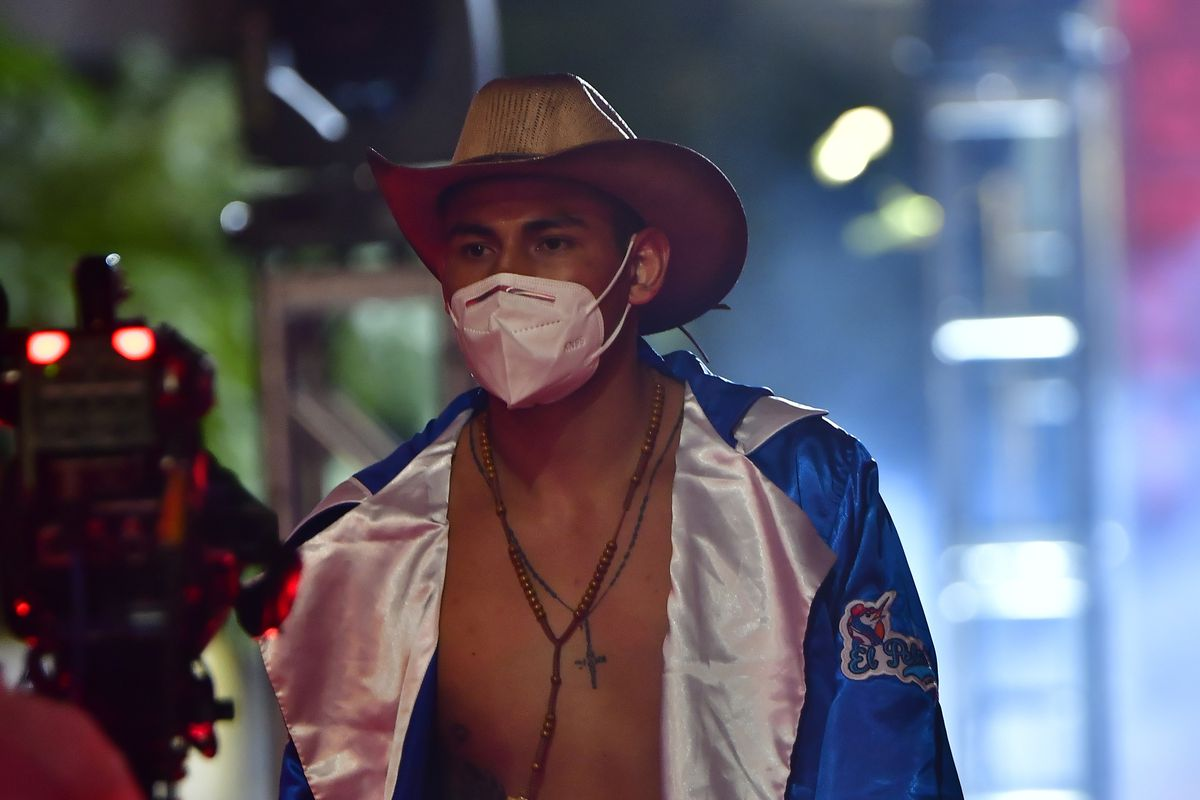 Pro Boxing Night During Coronavirus Pandemic in Mexico City
