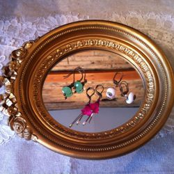Semi-precious earrings by 636 Designs, $35