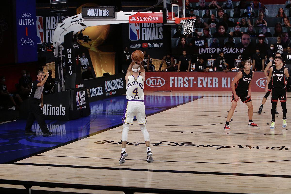 Los Angeles Lakers v Miami Heat - Game Three