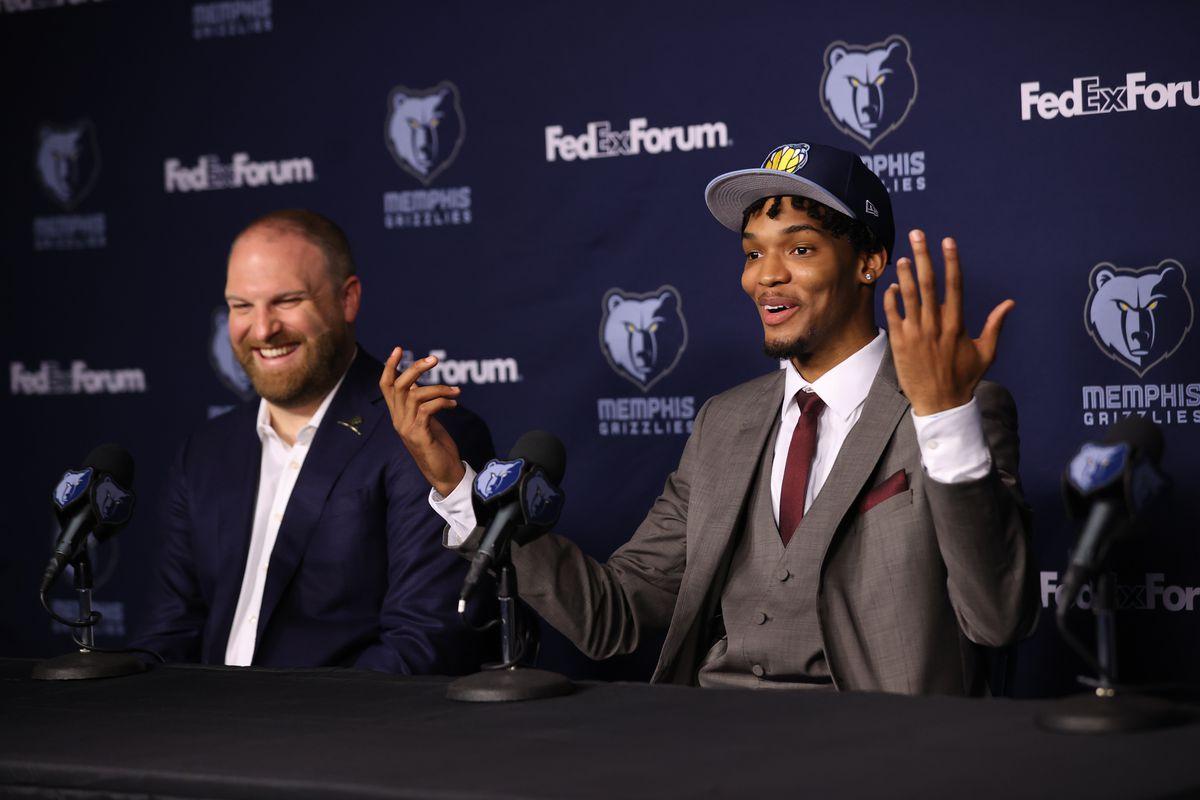 Memphis Grizzlies Introduce Draft Picks - Presser