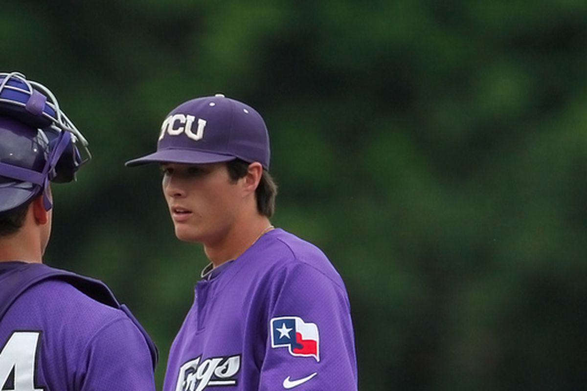 Preston Morrison was nails for the Frogs, again.