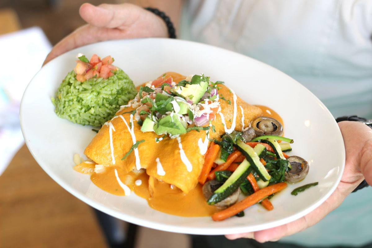 Enchiladas at El Chile