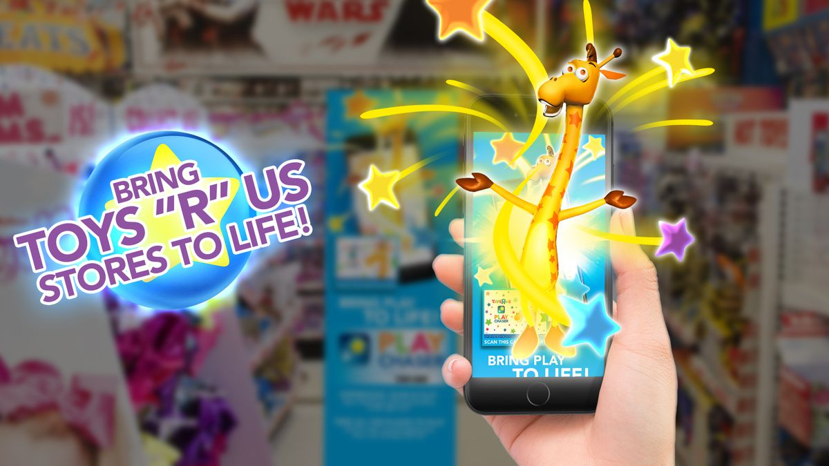 Toys R Us Releases An Ar App That Lets You Interact With Its Failing
