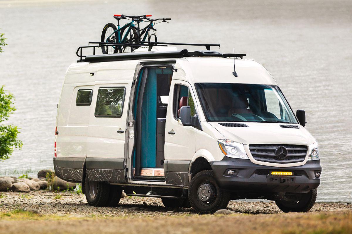 Sweet camper van combines luxury with adventure - Curbed