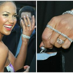 Although Jennifer Lopez has been married three times, it's the ring from the wedding that DIDN'T happen we remember best: the 6.1-carat pink diamond — created by Harry Winston — former flame Ben Affleck bought her in 2002.