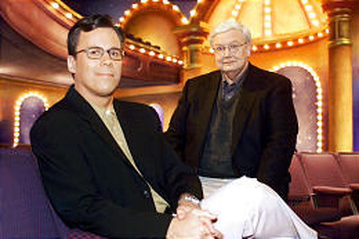 """Richard Roeper and Roger Ebert of """"Ebert \\\\& Roeper and The Movies."""""""