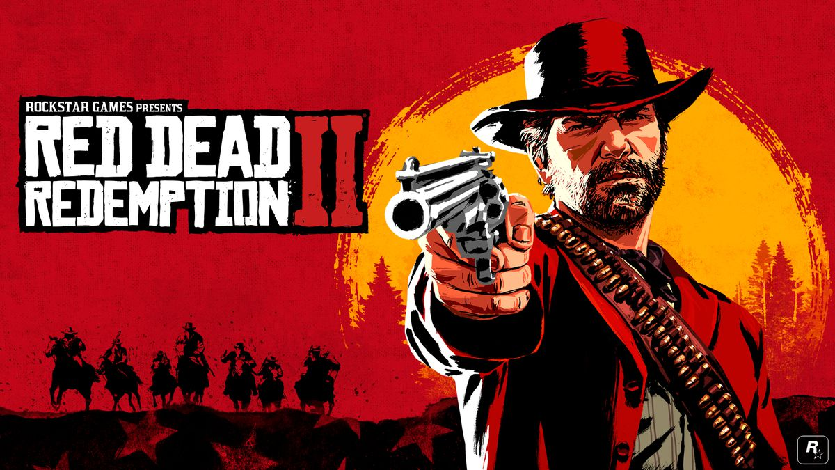 Red Dead Redemption 2 - artwork of Arthur Morgan aiming a revolver