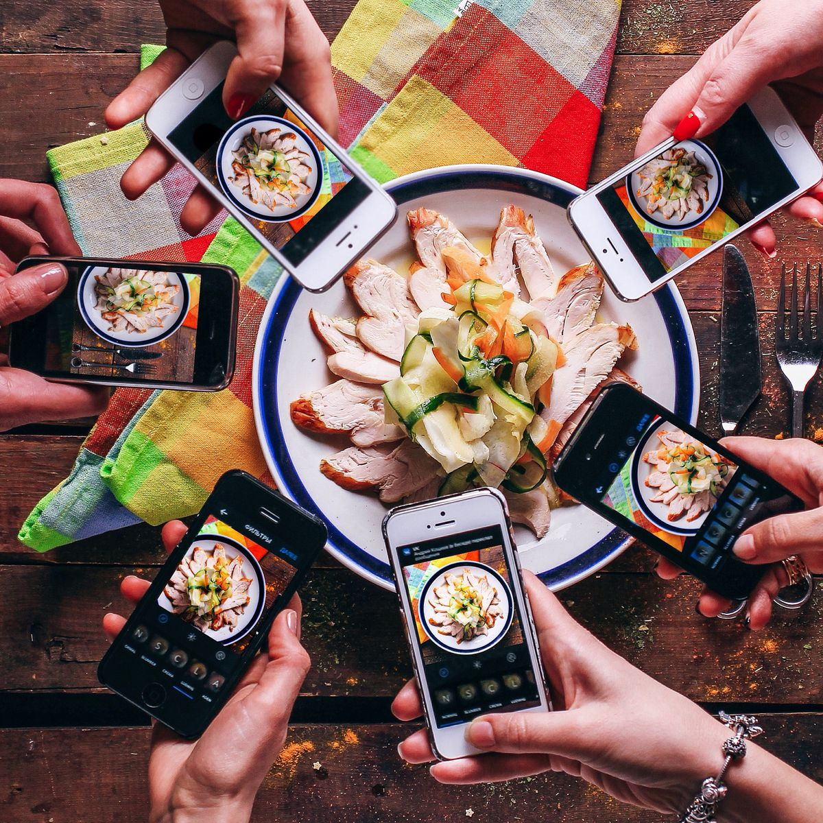 """""""It's pleasurable. It feels good to look at picturesof food,"""" saysRachel Herz, a Brown University and Boston College faculty member with a Ph.D in neuroscience."""