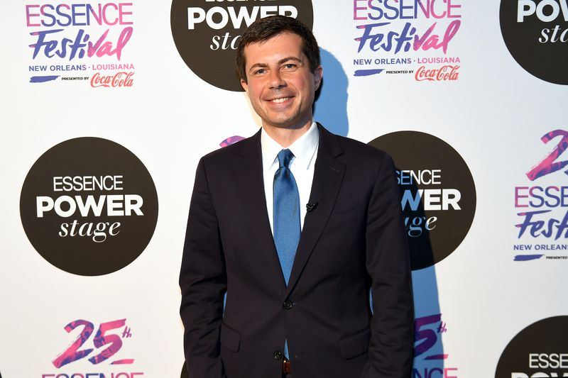 Mayor Pete Buttigieg attends 2019 ESSENCE Festival Presented By Coca-Cola at Ernest N. Morial Convention Center on July 07, 2019 in New Orleans, Louisiana.