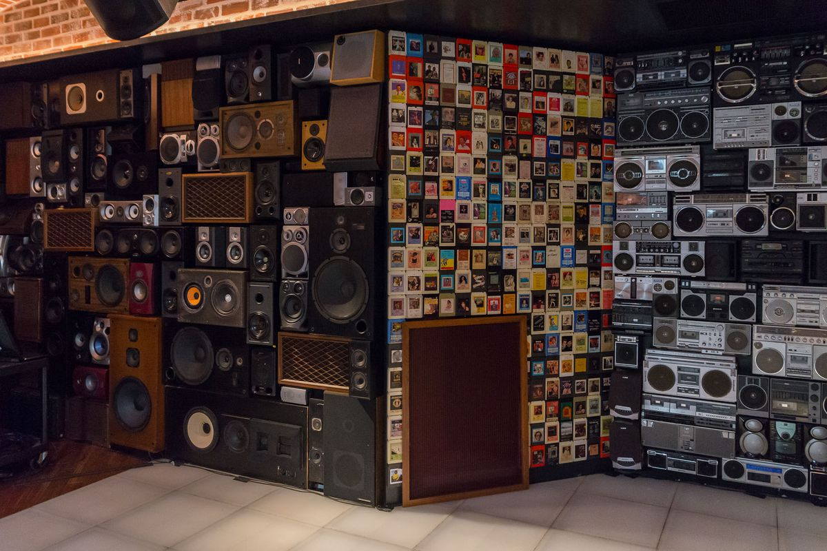 The main room at On the Record