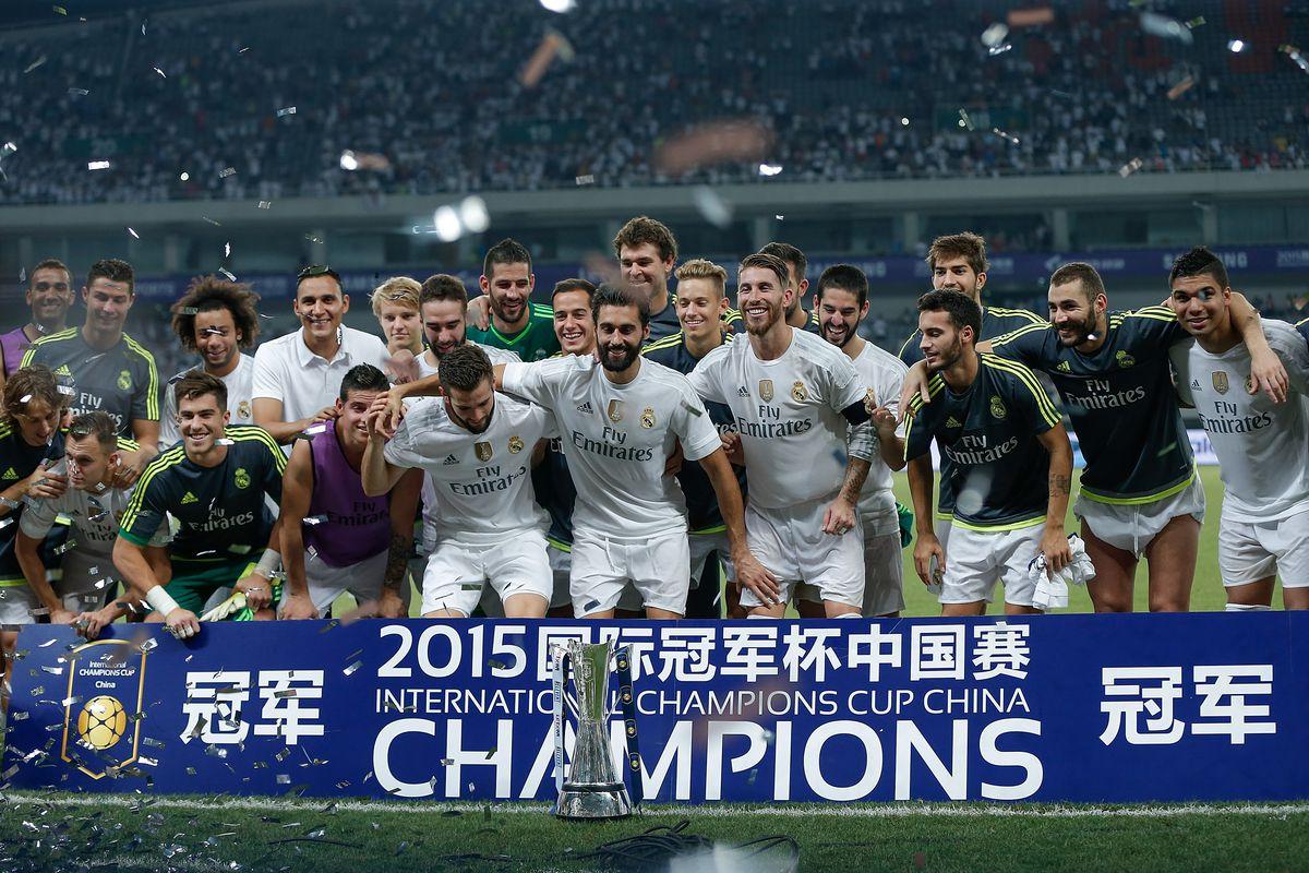 Real Madrid v AC Milan - International Champions Cup