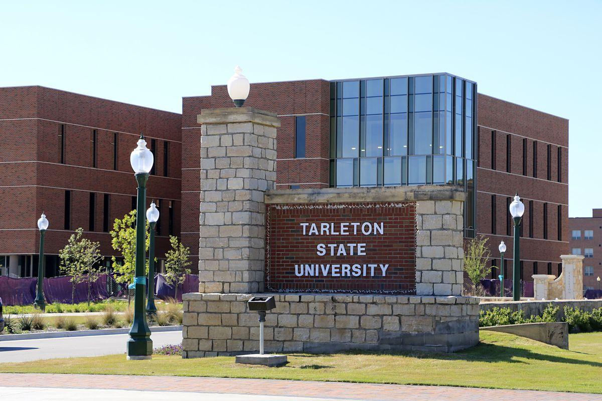 Tarleton State University entrance sign Stephenville Texas