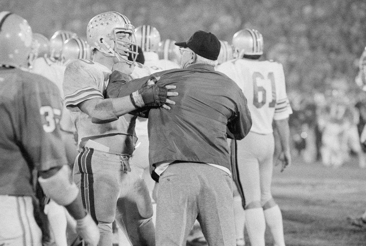 Woody Hayes Punching Ken Fritz