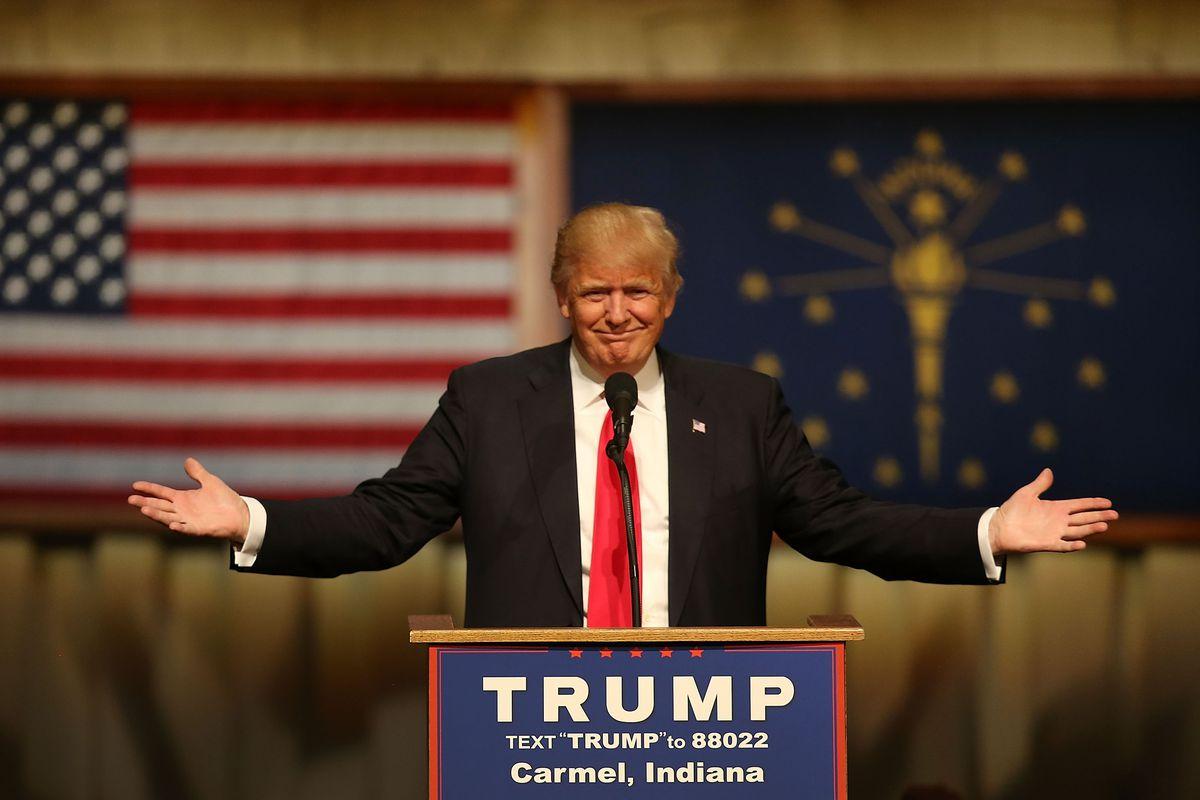 Hoosiers are overwhelmingly Googling Donald Trump over Ted Cruz.