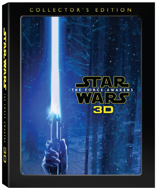 Star Wars: The Force Awakens 3D Collector's Edition box art