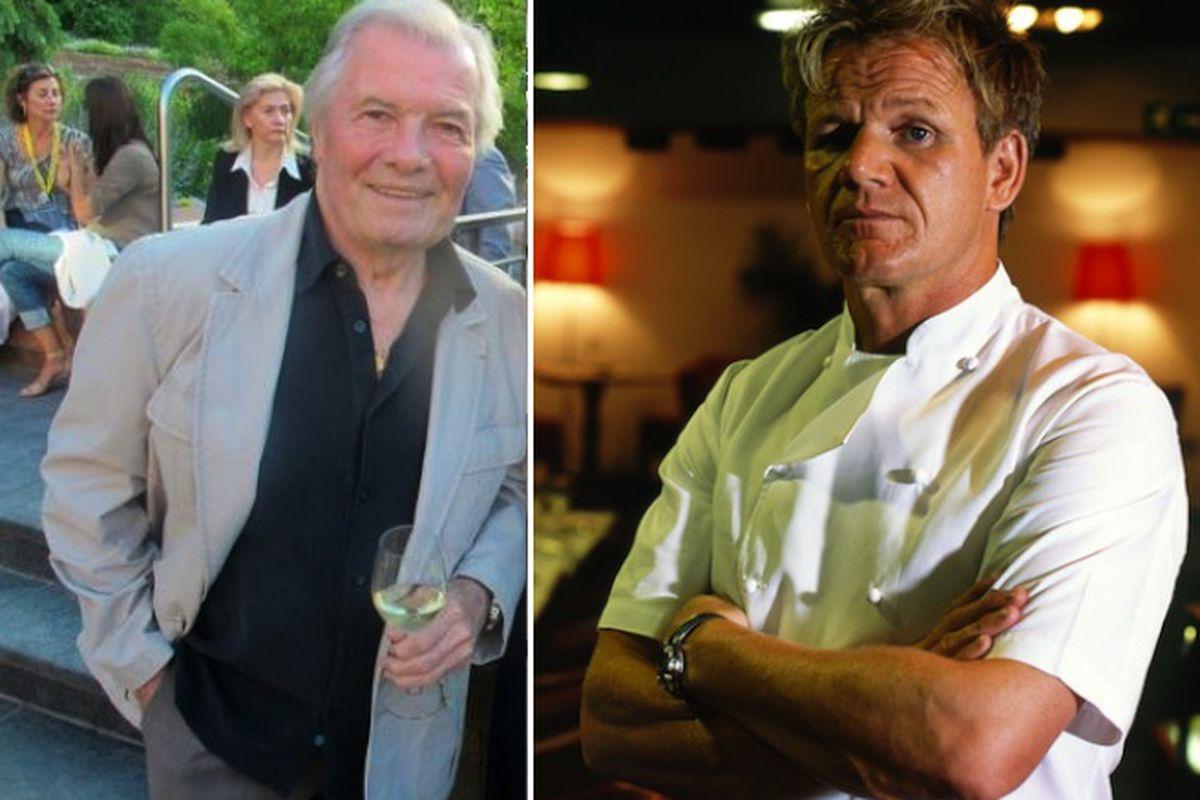 Jacques Pépin, Gordon Ramsay