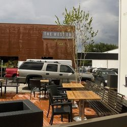 The West End's patio.