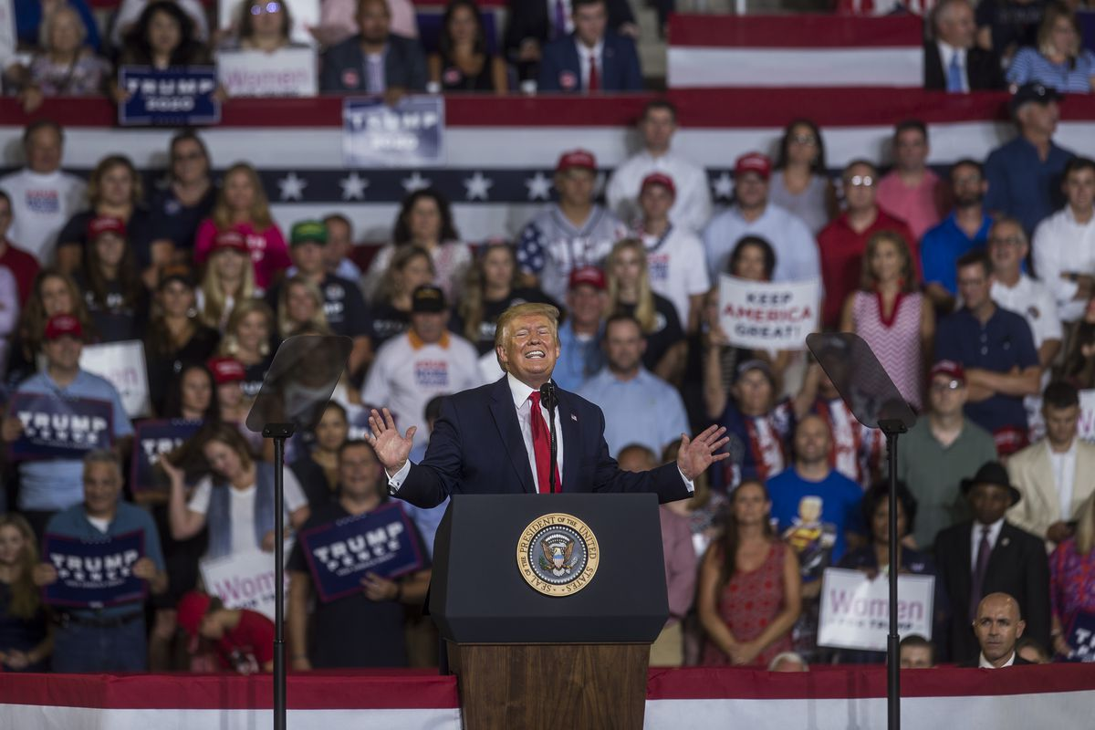 """Donald Trump Holds """"Keep America Great"""" Rally In Greenville, NC"""